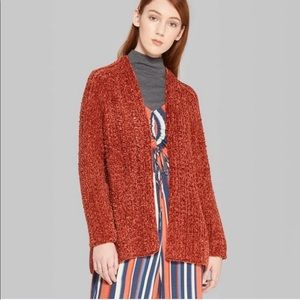Wild Fable Chenille Cardigan